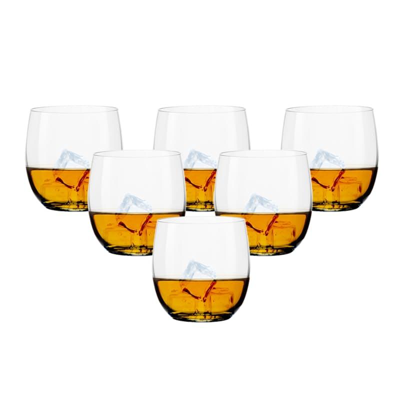 Set of 6 Whiskey Glasses (330ml)