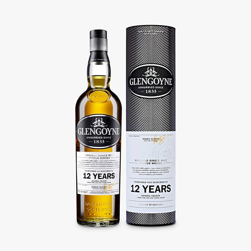 12 Year Highland Single Malt Scotch Whisky 750ml