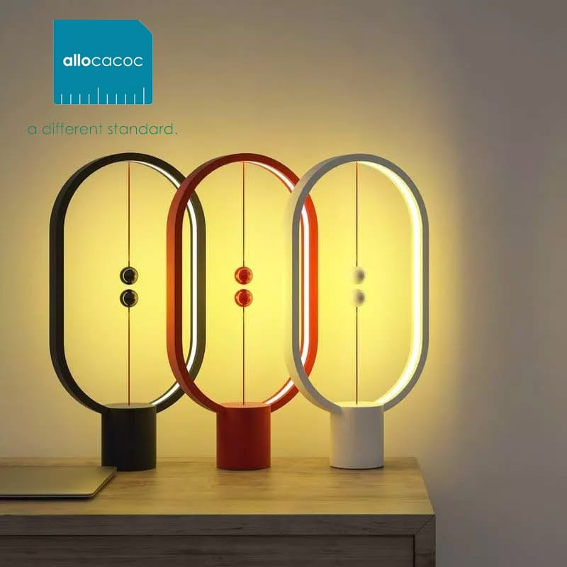 Heng Eclipse Balance LED Lamp with Mid-Air Switch