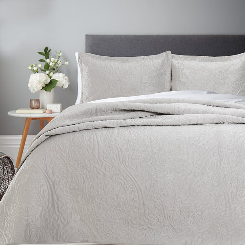 Luxurious French Velvet Bedspread