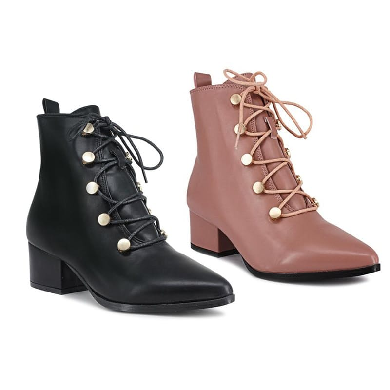 Ladies Lace-up Ankle Boot