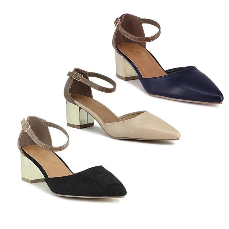 Ladies Block-Heel Shoe
