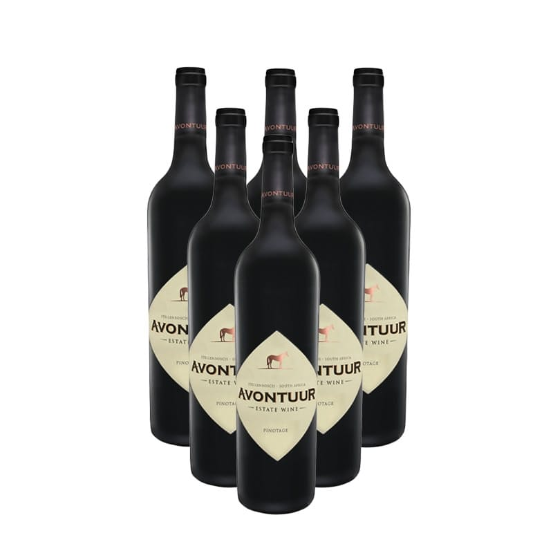 Avontuur Pinotage 2017 (R116.50 per bottle, 6 Bottles)