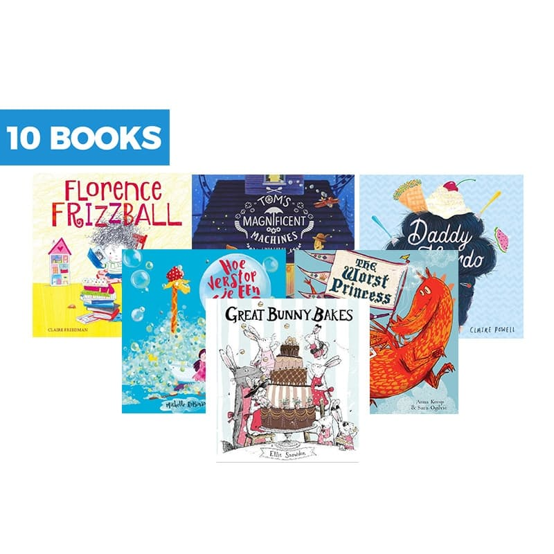 10 Book Picture Story Bundle