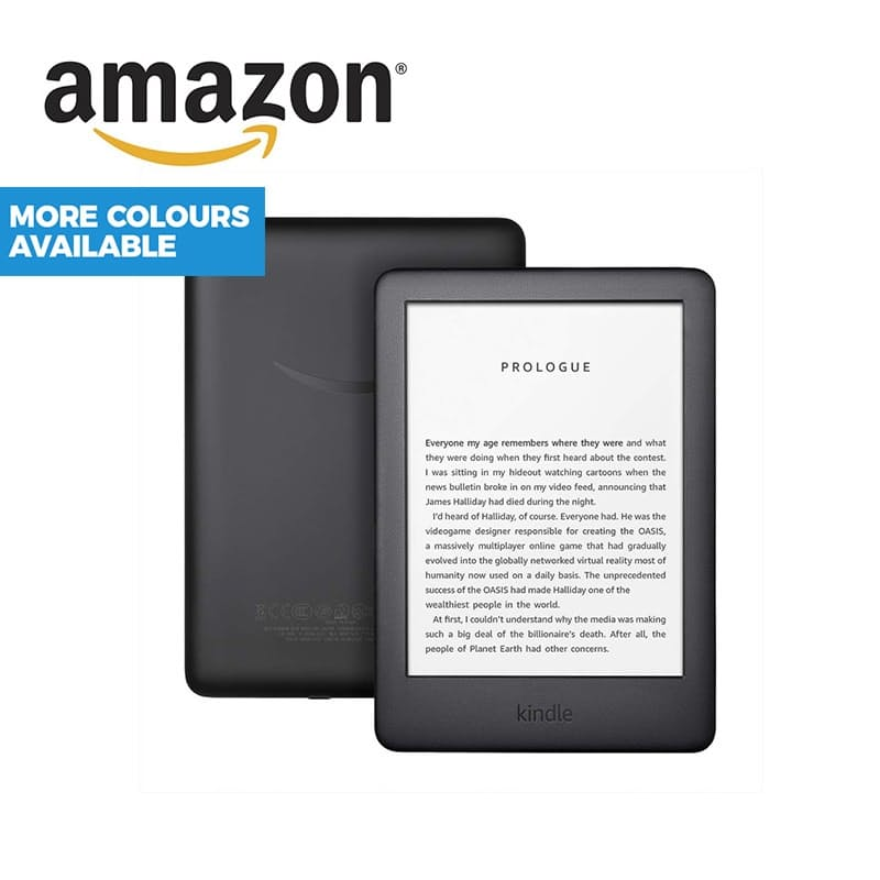 """All New 6"""" Display Touchscreen Kindle with Built-in Front Light 10th Gen 2019 (With Ads)"""