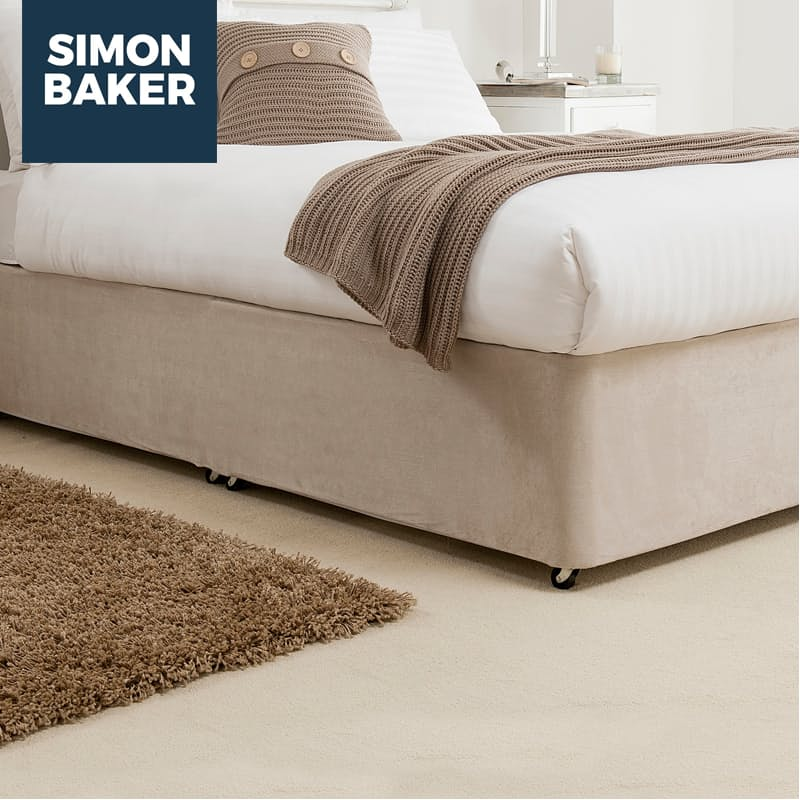 Faux Suede Bed Base Wrap