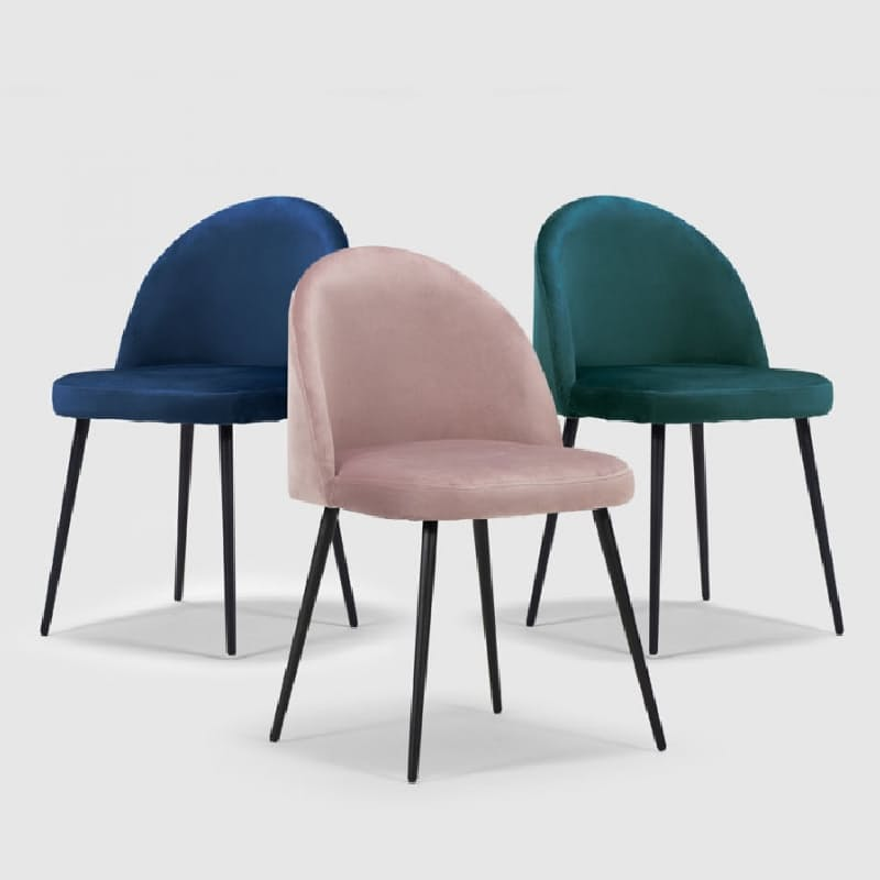 Exquisite Velvet Dining Chair