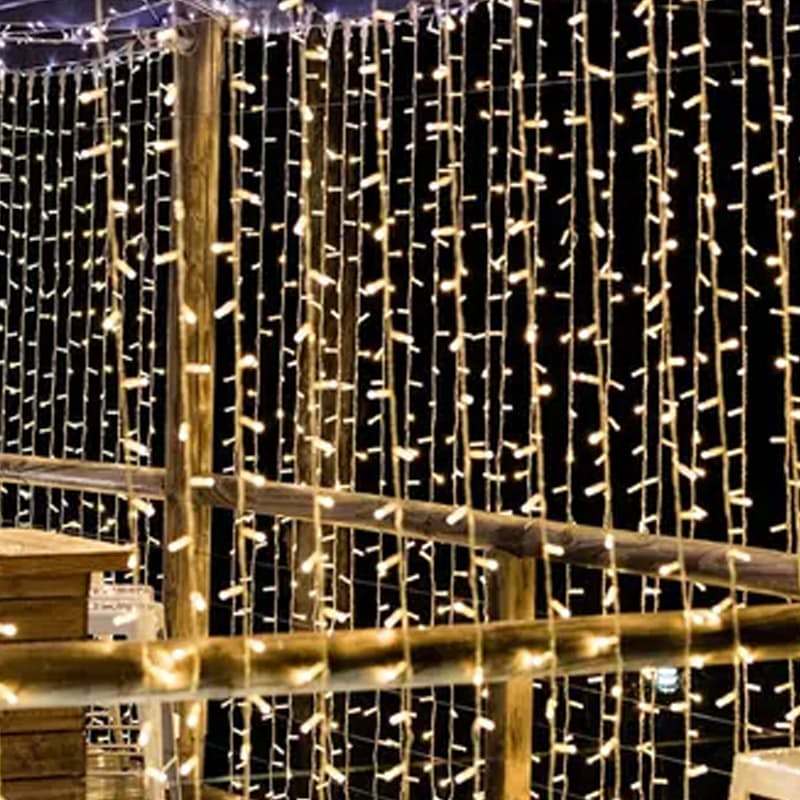 Curtain Lights 6m x 1.5m (Multiple Colours Available)