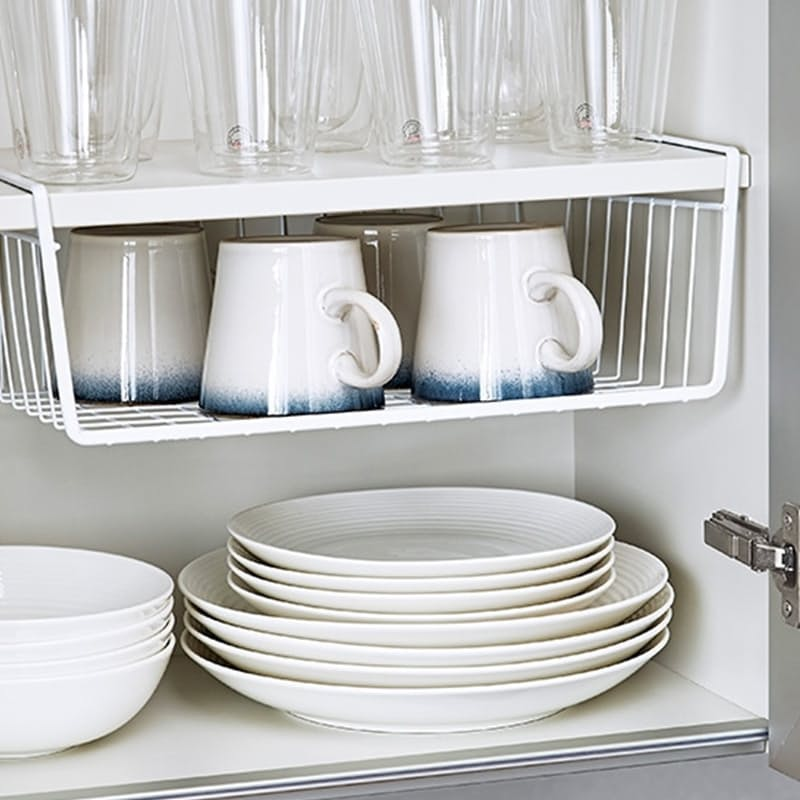 Wire Under Shelf Hanging Storage Organization Basket