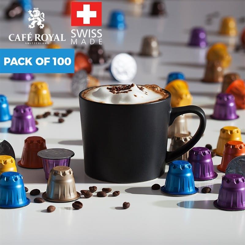 Pack of 100 Nespresso Compatible Coffee Capsules (R1.99 per capsule)