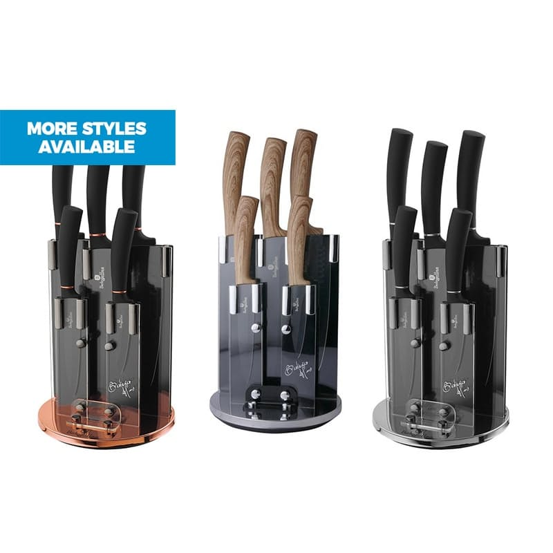 6-Piece Knife Set with Stand
