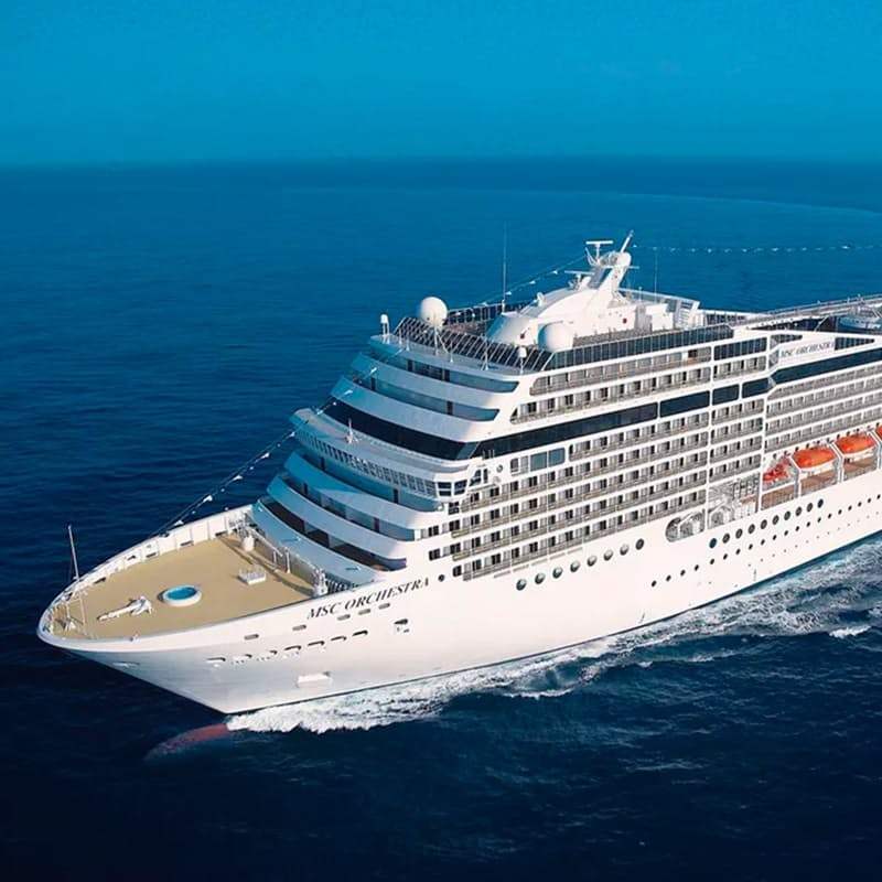 4-Night MSC Orchestra Cruise Including All Meals, Entertainment & Gratuities per Person