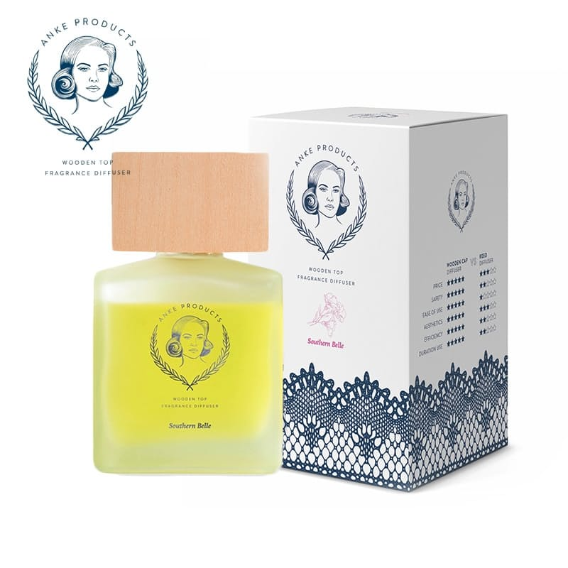 Premium Wooden Top Fragrance Diffuser (120ml)