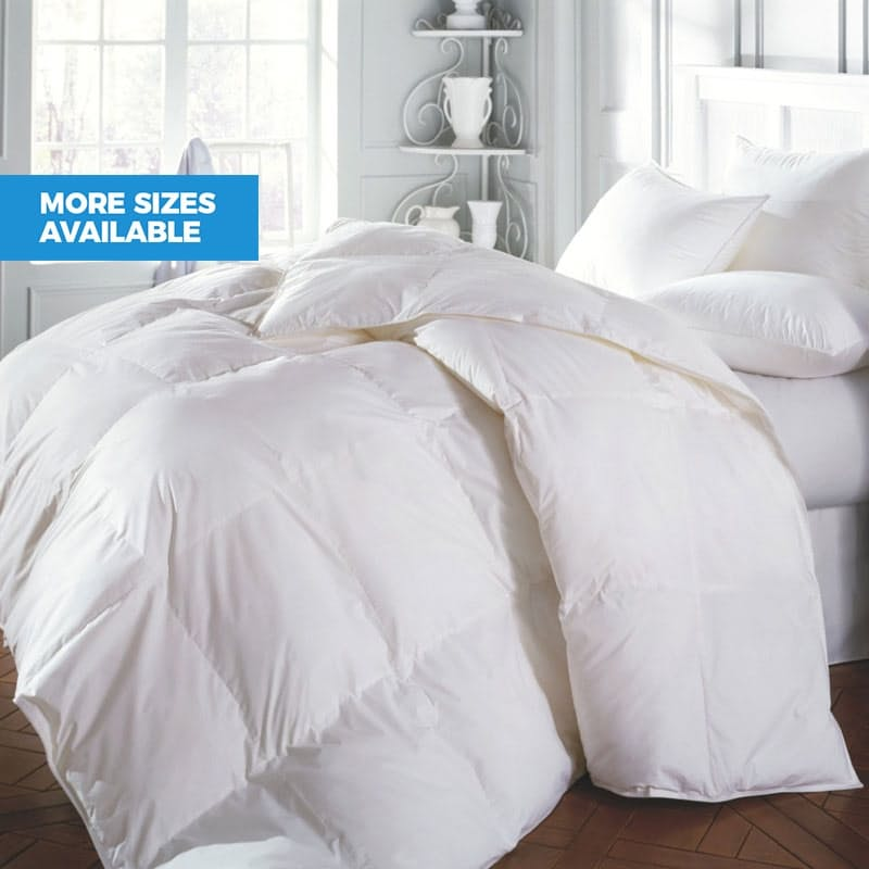 90/10 Duck Feather Down Duvets- Various Sizes Available