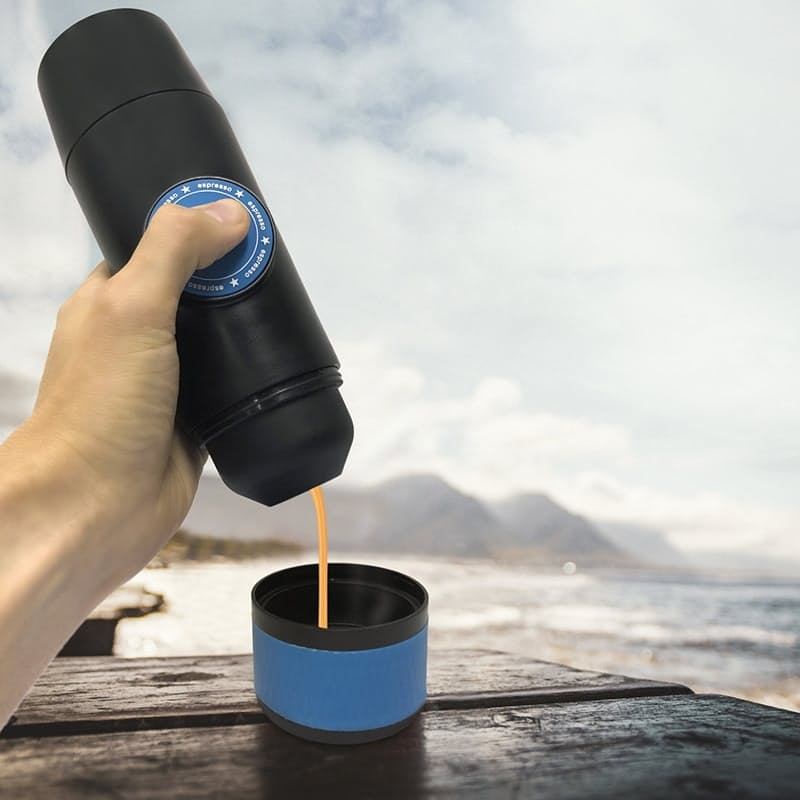 Portable Electric Coffee Maker (Capsule & Ground Coffee)