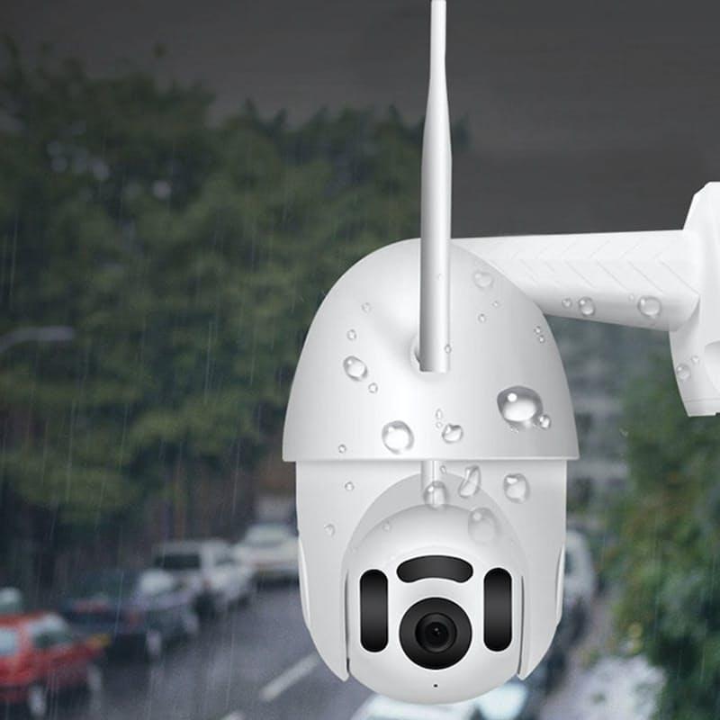 Full HD Smart Wi-Fi Waterproof Surveillance Camera