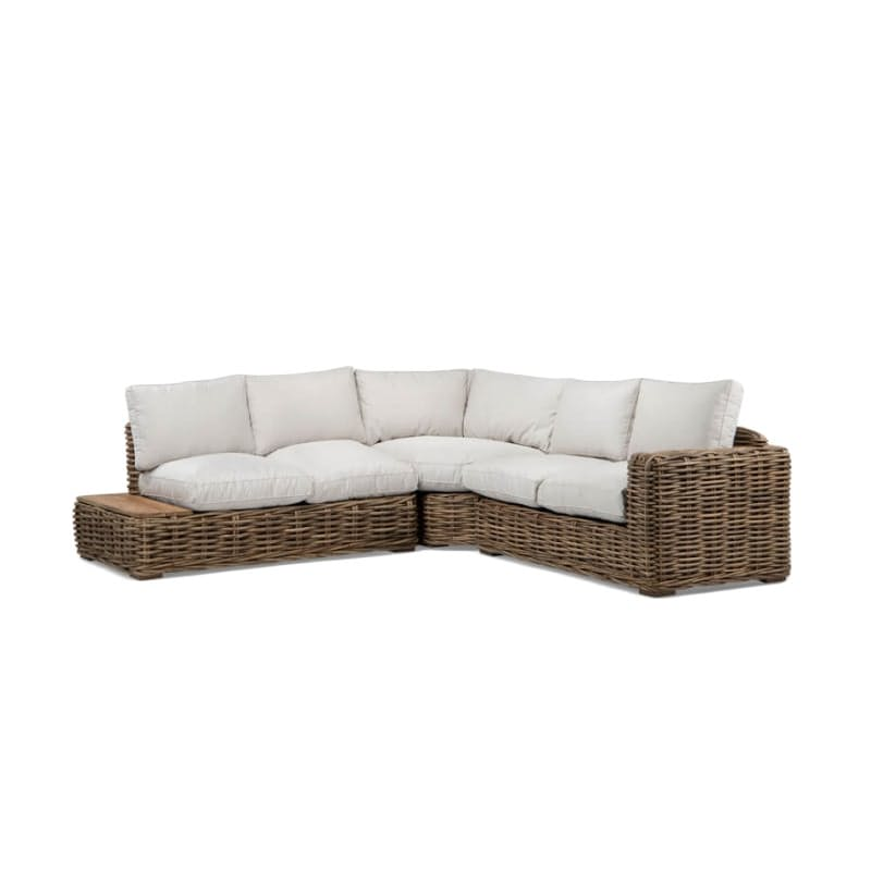 Corner Patio Lounge Set