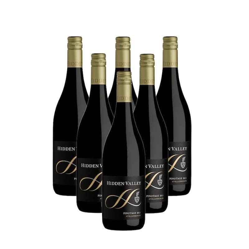 Helderberg Pinotage 2015 (R74.83 per Bottle,6 Bottles)