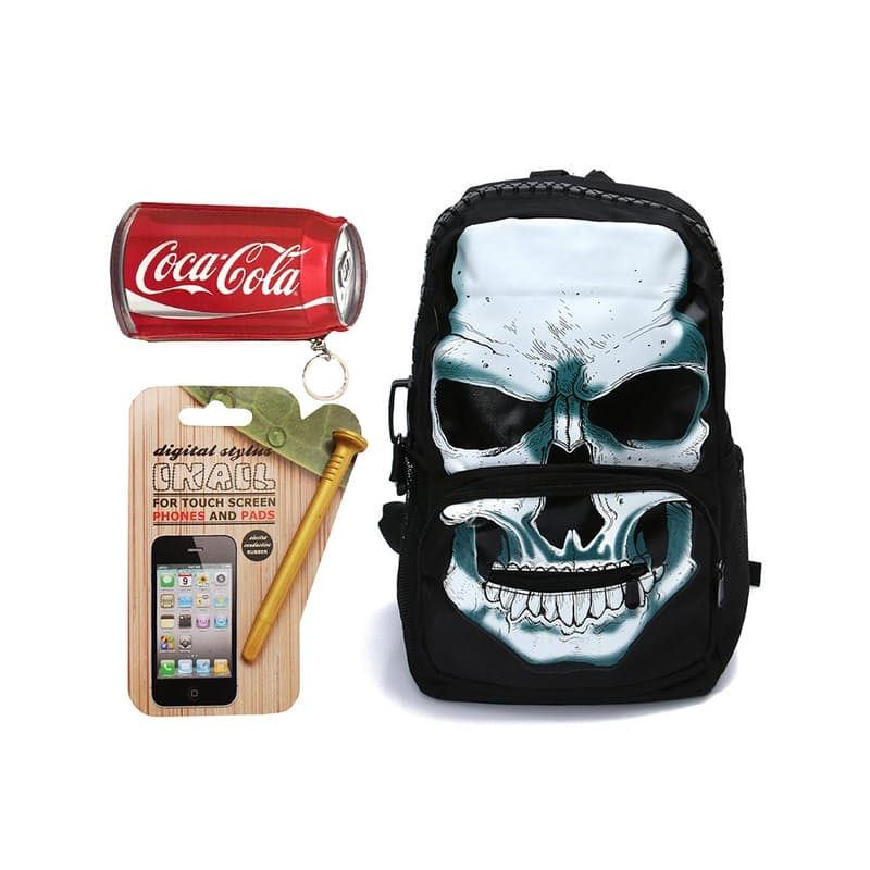 Backpack and Accessories Bundle