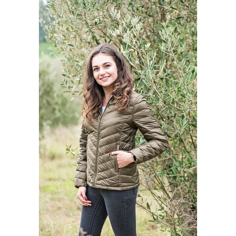 Ladies Ultra Light Duck Down Short Jackets