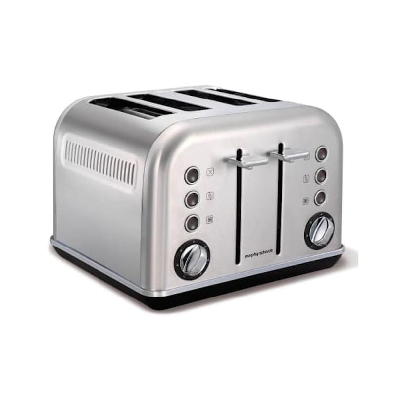 """4-Slice Metallic """"Accents"""" Toaster"""