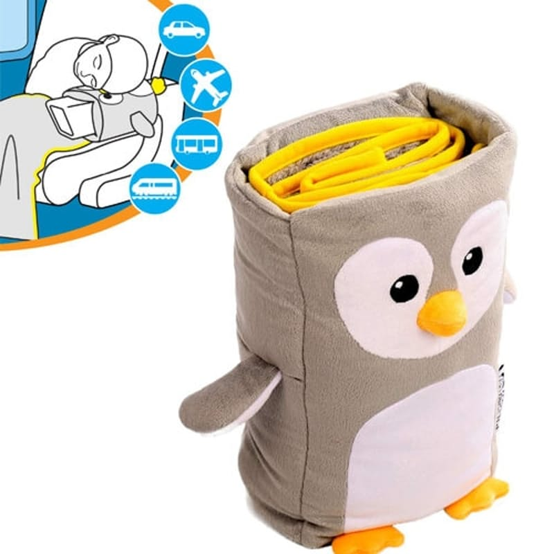 Kids Owl Arm Rest & Blanket