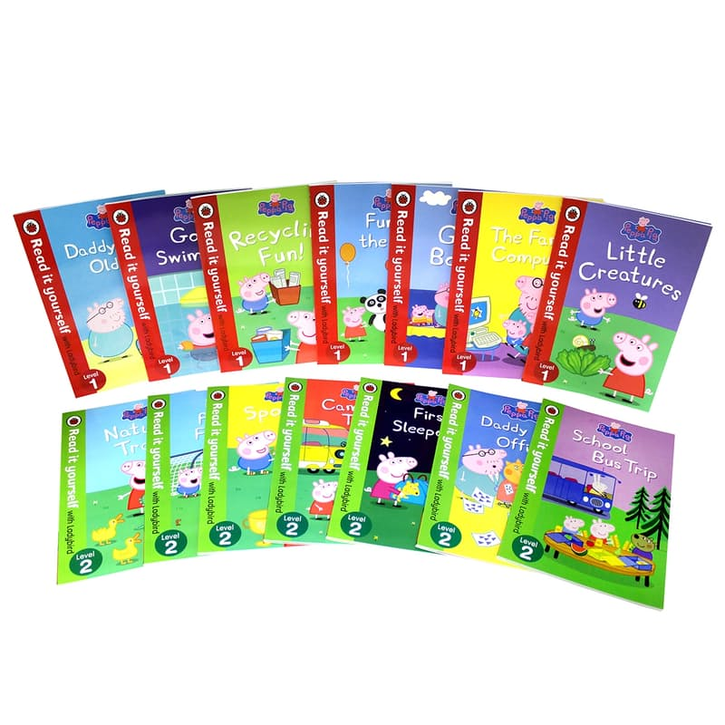 Read it Yourself 14-Book Collection