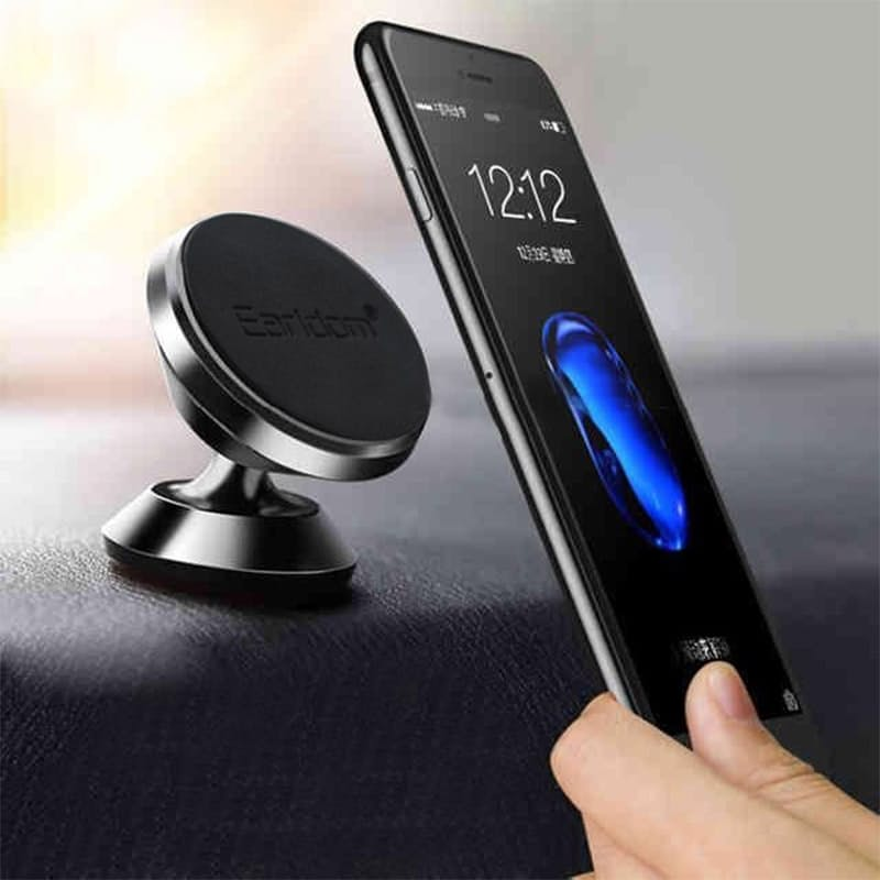 Universal Rotating Black Magnetic Dash Mount (Black, Silver & Gold Colours available)