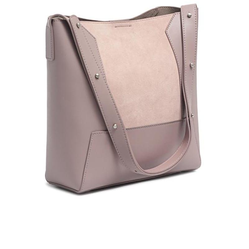 Genuine Leather Shopper Bag