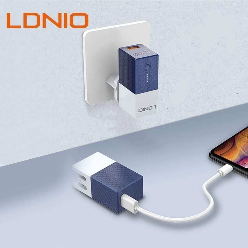 2-in-1 Charging Block & Power Bank (2600mAh or 5200mAh)