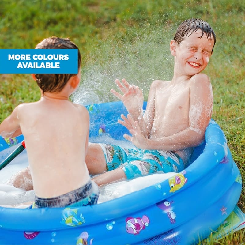 Inflatable Paddling Pool and Play Pit (Multiple Sizes and Colours Available)