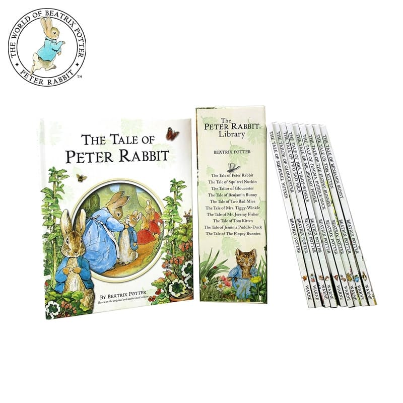 The Peter Rabbit Library Classic Edition (The Original and Authorised Editions)