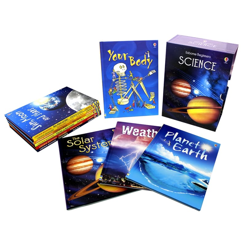 Science 10 Book Hardcover Box Set