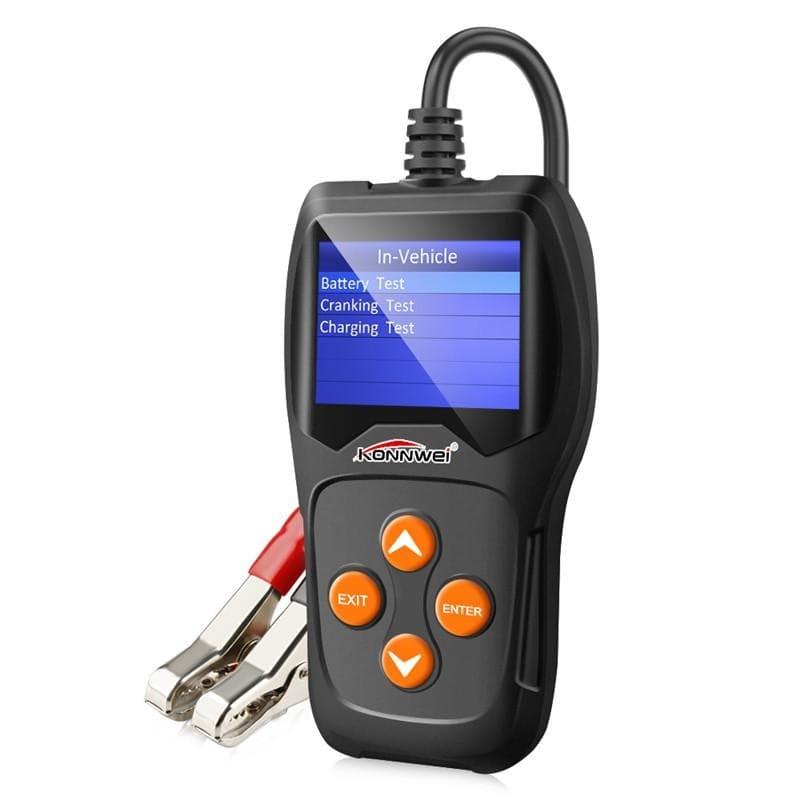 12V Digital KW600 Car Battery Tester