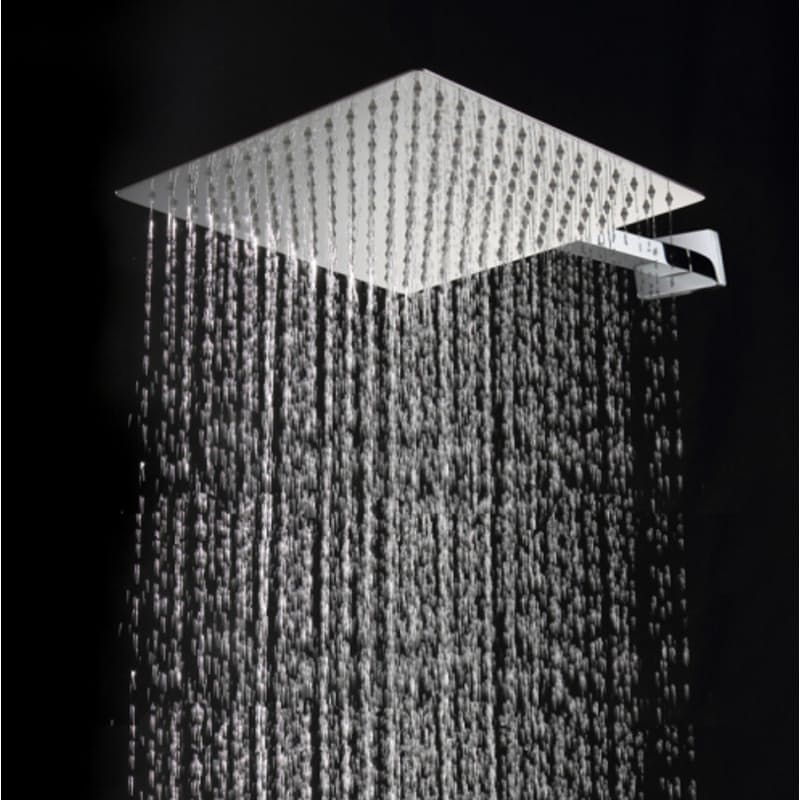 "Large 10"" Stainless Steel Rainfall Shower Head"