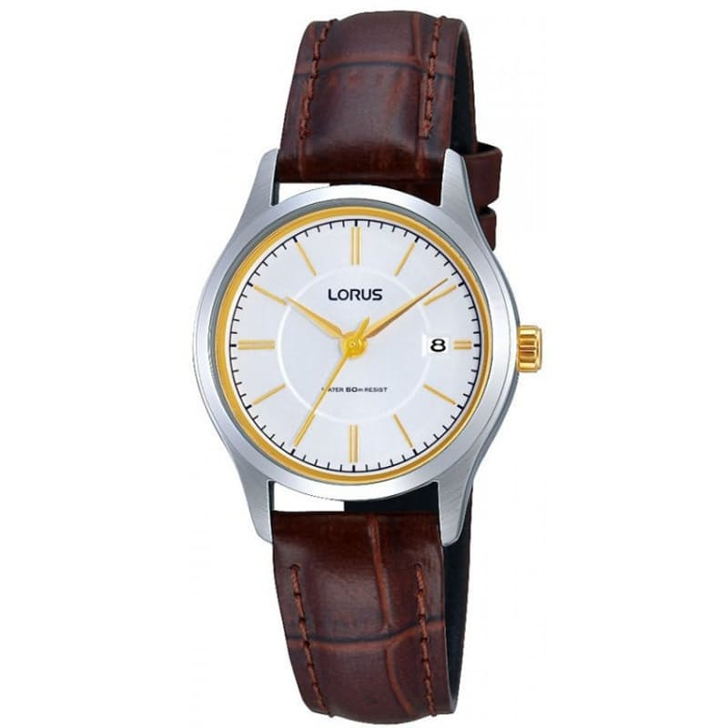 Ladies Genuine Leather Classic Analog Watch