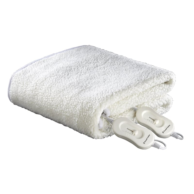 Queen or King Fitted Fleecy Electric Blanket