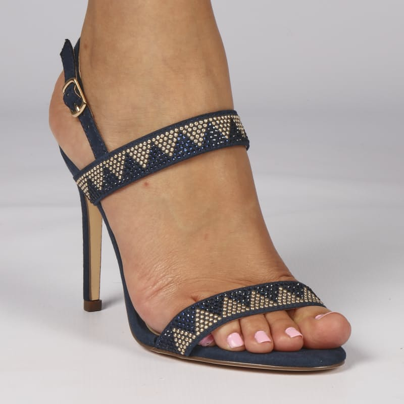 Ladies High Heeled Sandals (Multiple Colours Available)