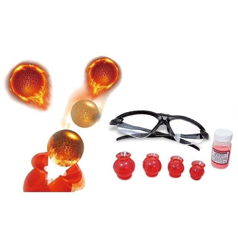 Rocket Ball & Prehistoric Amber Work Chemical Experiment Series
