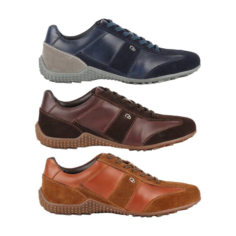 Men's Leather Romano Shoes (Multiple Colours Available)