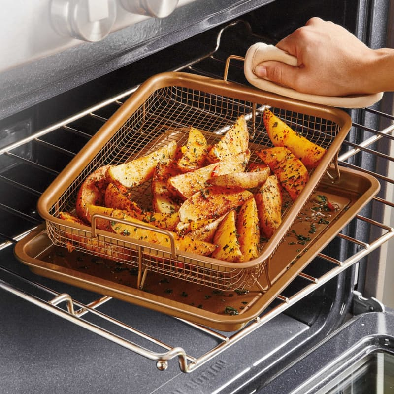 Rectangle Crispy Oven Tray