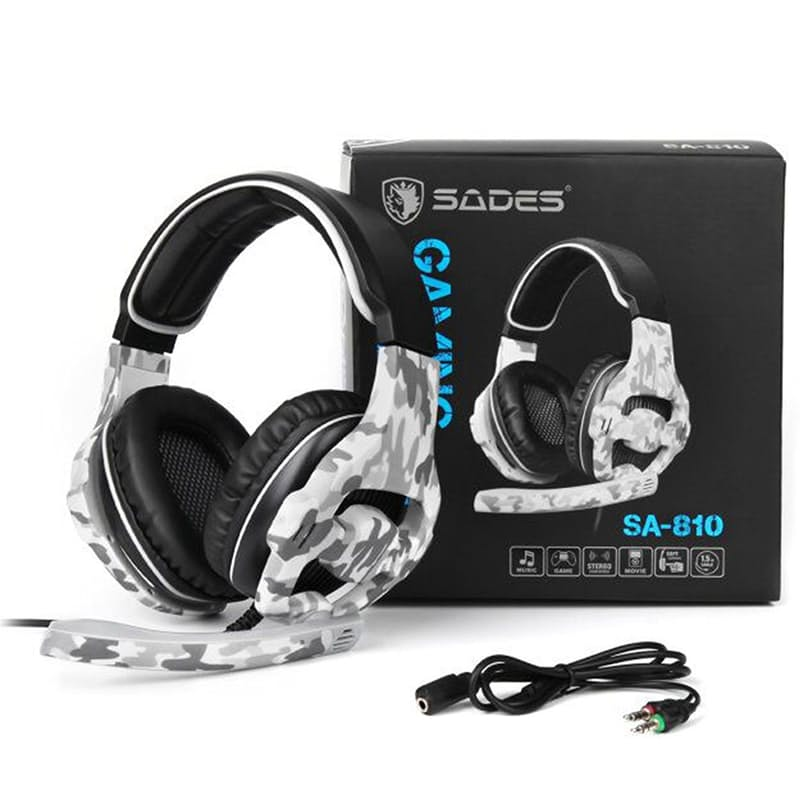 810 Gaming Headphones with Microphone