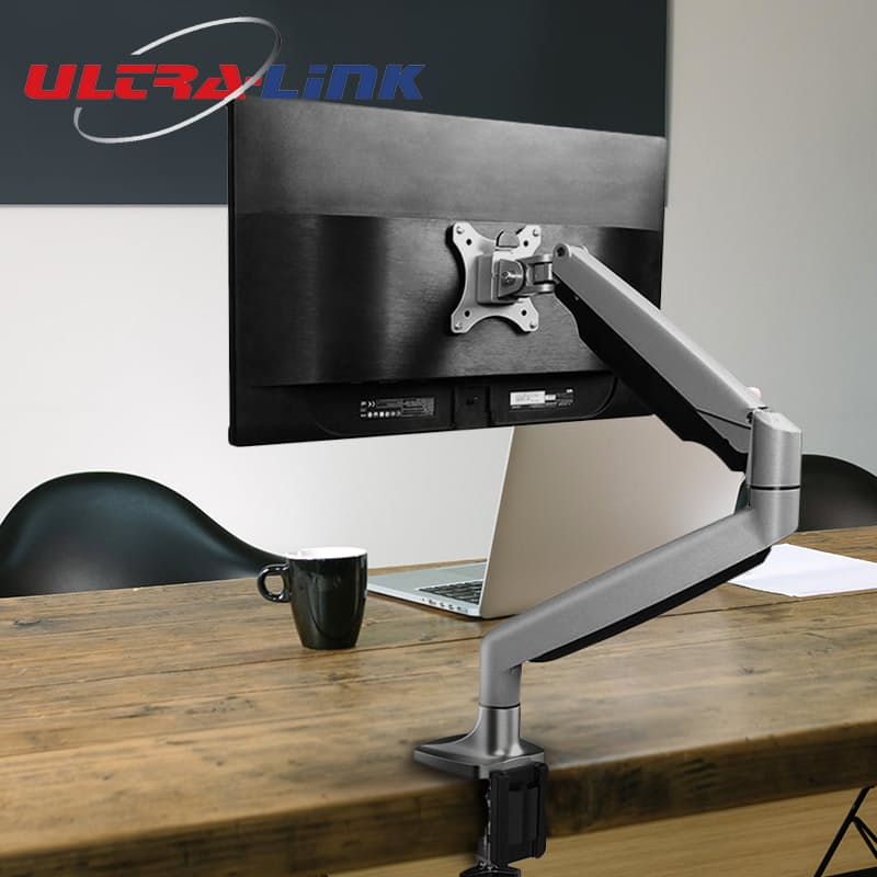 "Monitor Desk Mount Single or Double Arm - 12"" to 30"""