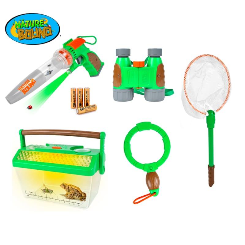 Kids Explorer Kit (Includes Bug Vacuum, Critter Bard, Bug Net, Binoculars and Bug Magnifier)