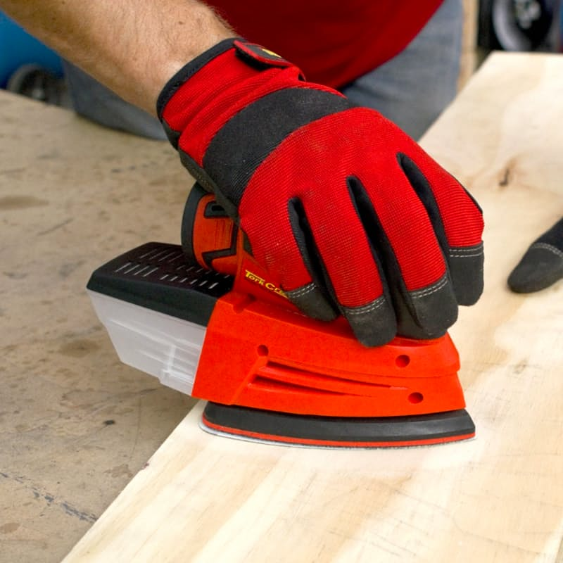 Cordless Mini Palm Sander with Sanding Sheets