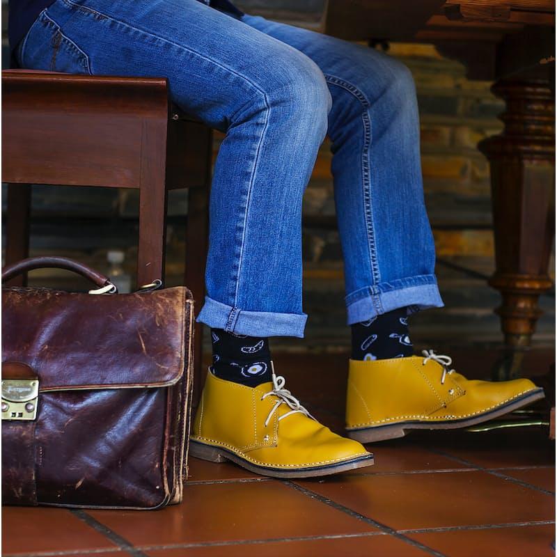 Men's and Ladies Genuine Leather Vellies