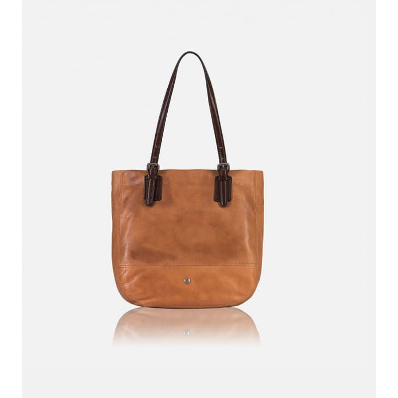 Leather RFID Secure American Ladies Tote