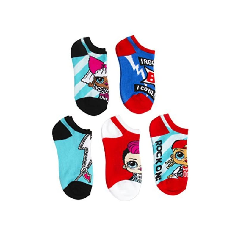 Pack of 5 Girls Socks