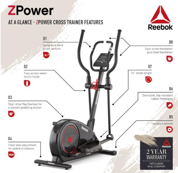 Ellyptical Cross Trainer   OneDayOnly.co.za