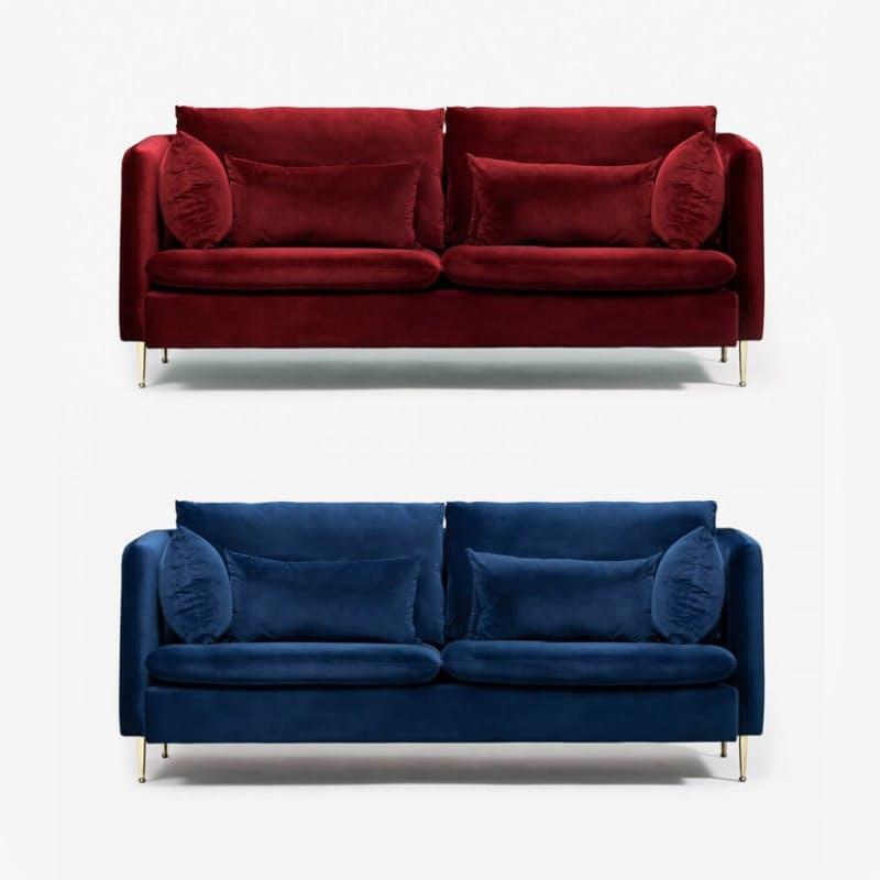 Elegant Velvet Couch